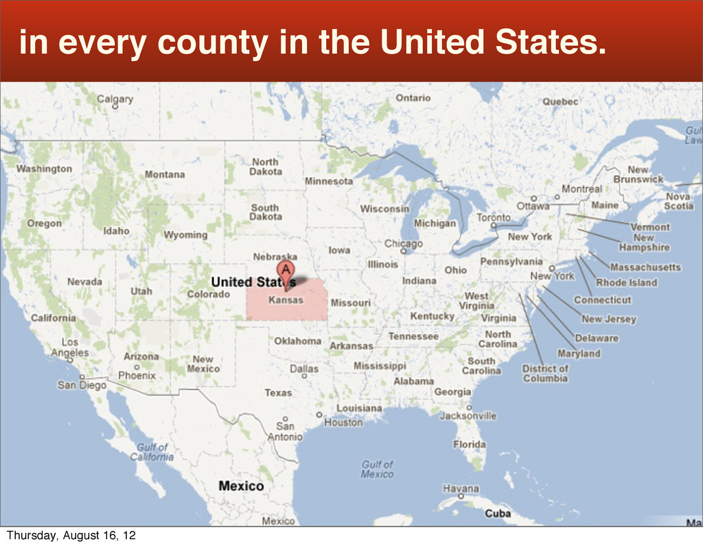 in every county in the United States. Thursday,...