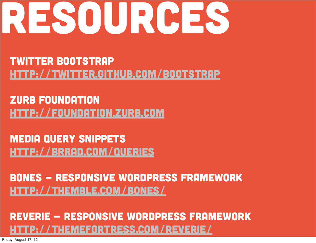 resources twitter bootstrap http://twitter.gith...