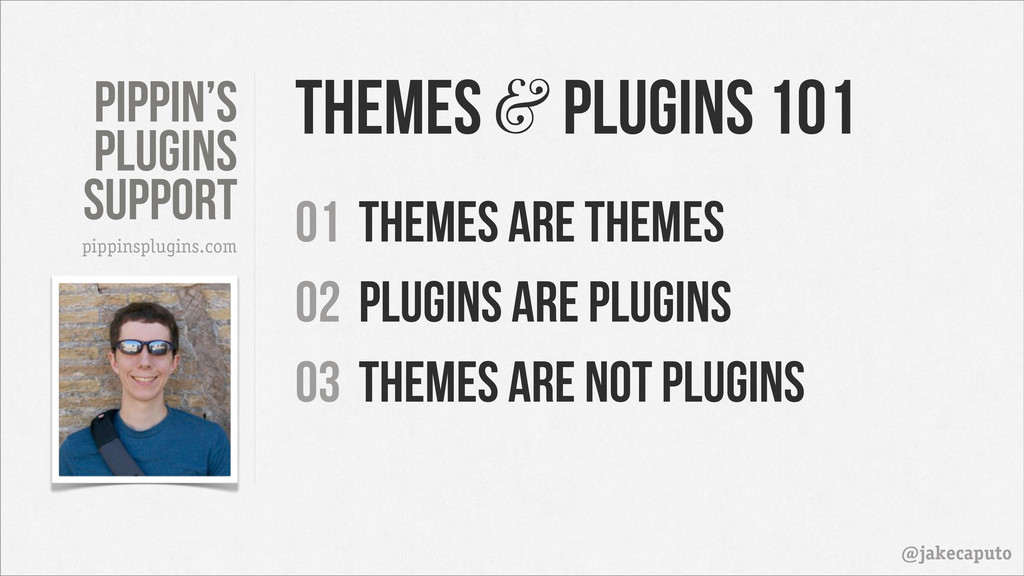 Pippin's PLugins support @jakecaputo pippinsplu...