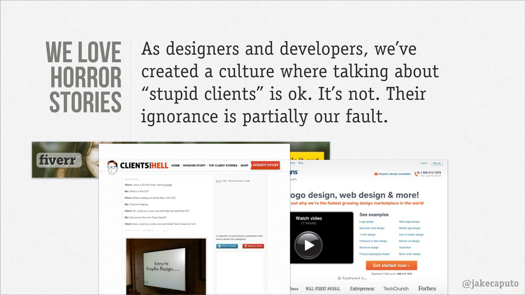 @jakecaputo As designers and developers, we've ...