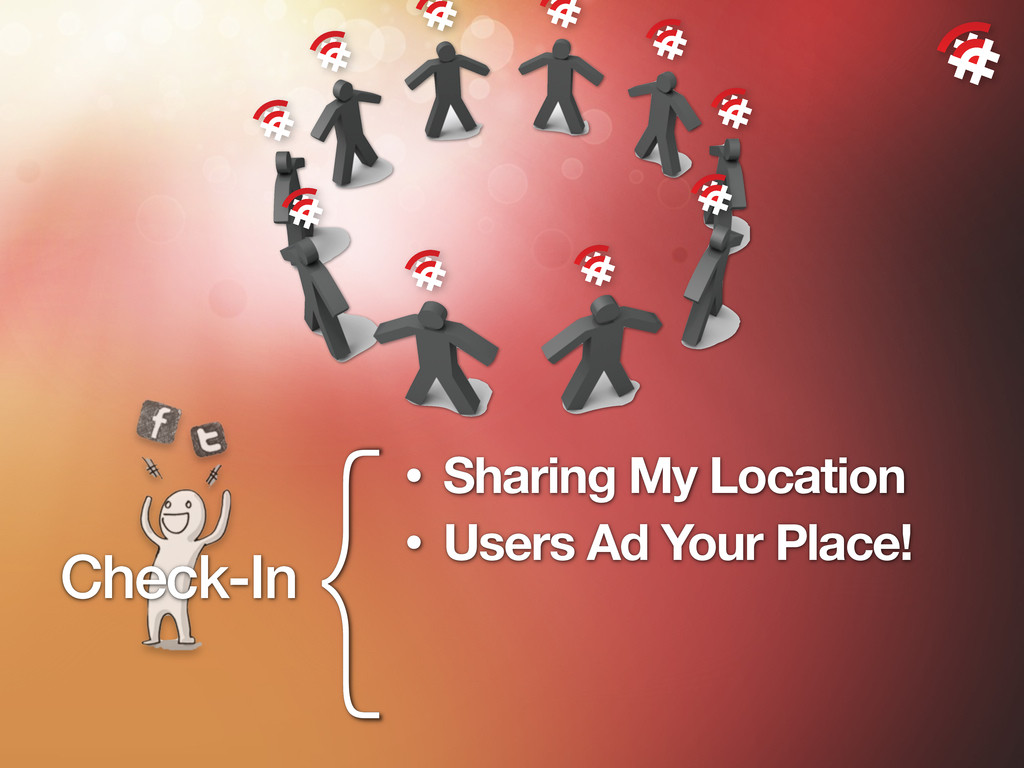 {• Sharing My Location • Users Ad Your Place! C...