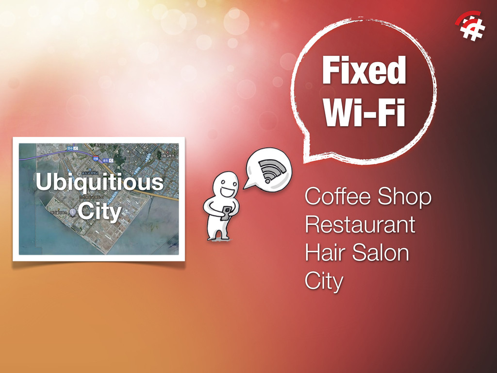 Fixed Wi-Fi Coffee Shop Restaurant Hair Salon C...