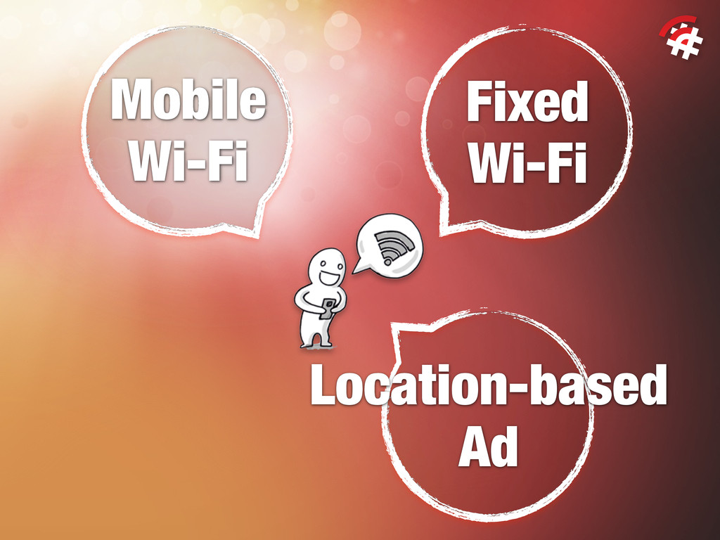 Fixed Wi-Fi Mobile Wi-Fi Location-based Ad