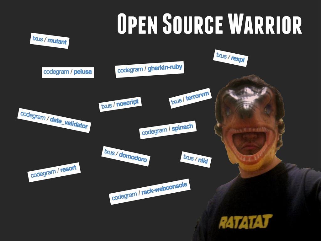 Open Source Warrior