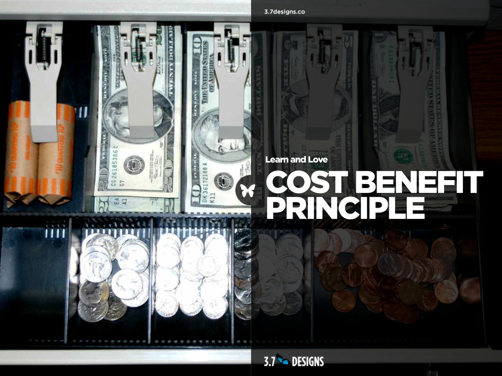 Learn and Love COST BENEFIT PRINCIPLE