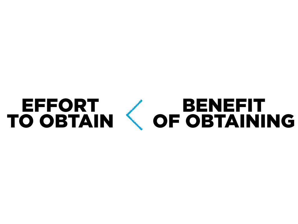 EFFORT TO OBTAIN BENEFIT OF OBTAINING