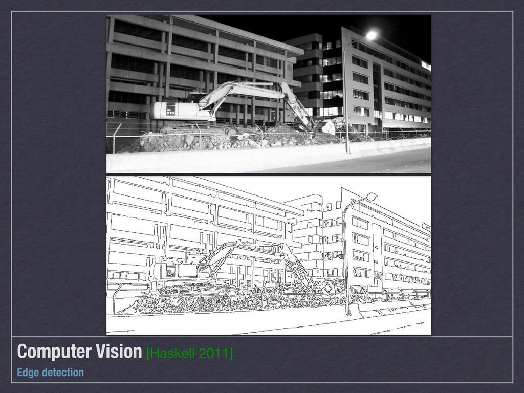 Computer Vision [Haskell 2011] Edge detection