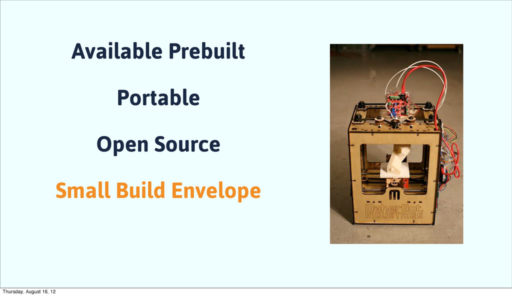 Available Prebuilt Portable Open Source Small B...