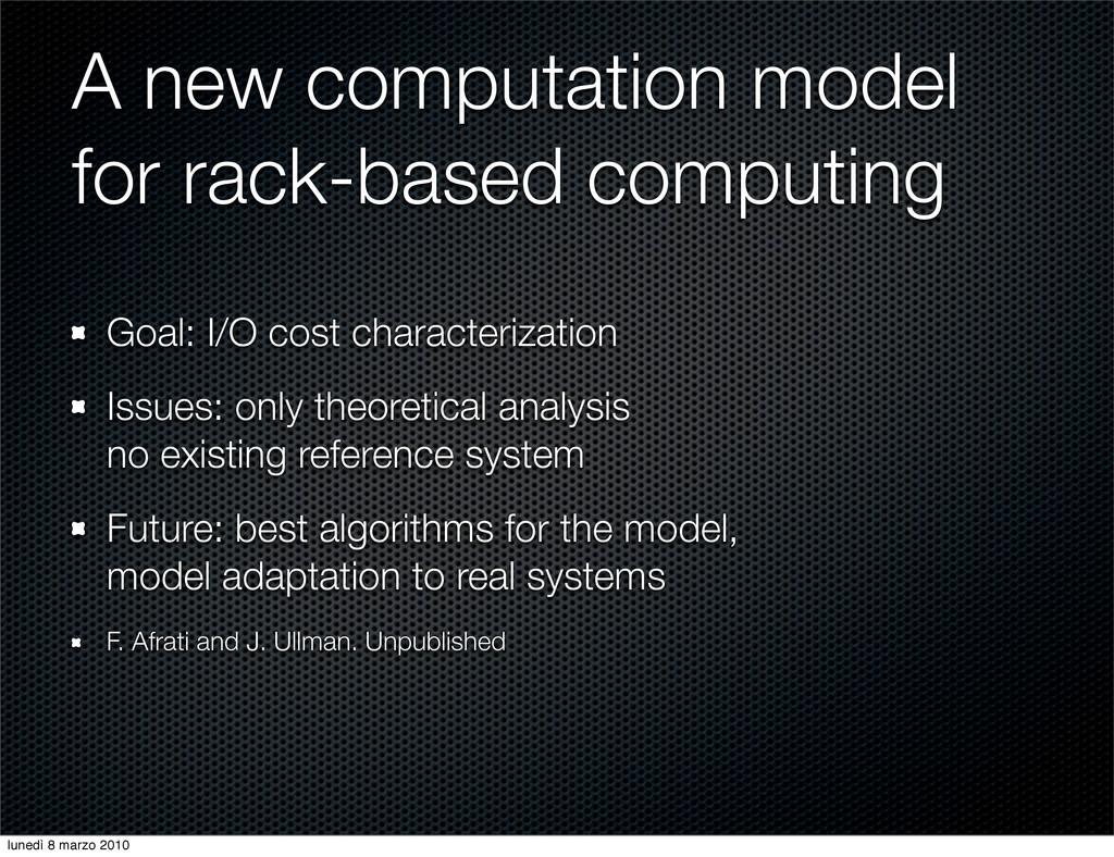 A new computation model for rack-based computin...