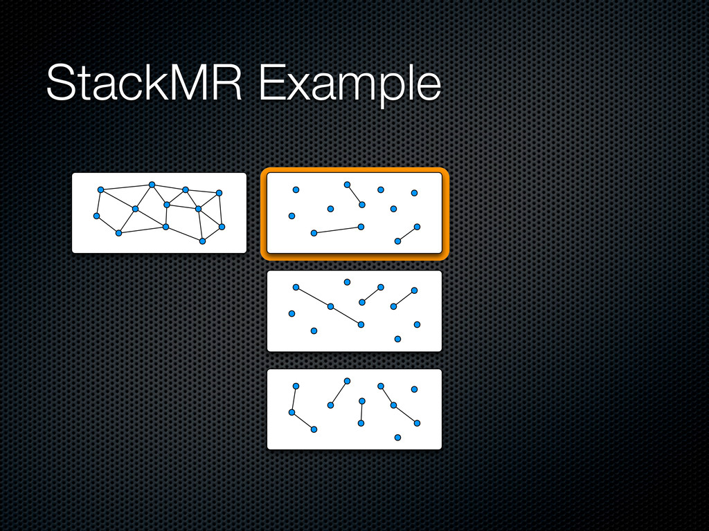 StackMR Example