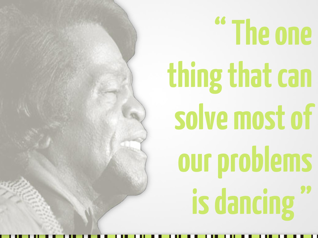 """"""" The one thing that can solve most of our prob..."""