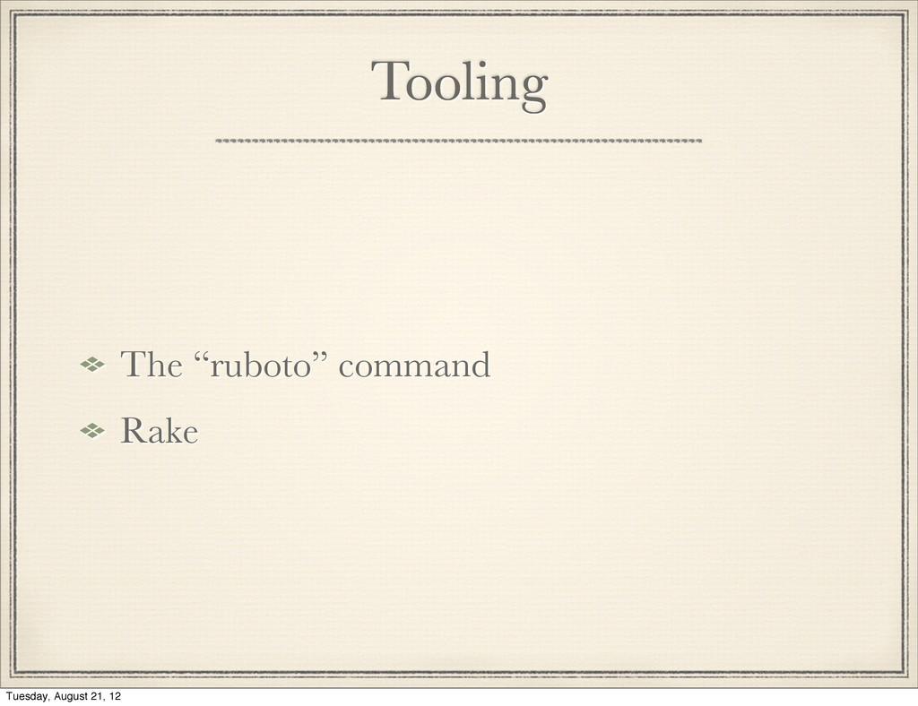 "Tooling The ""ruboto"" command Rake"