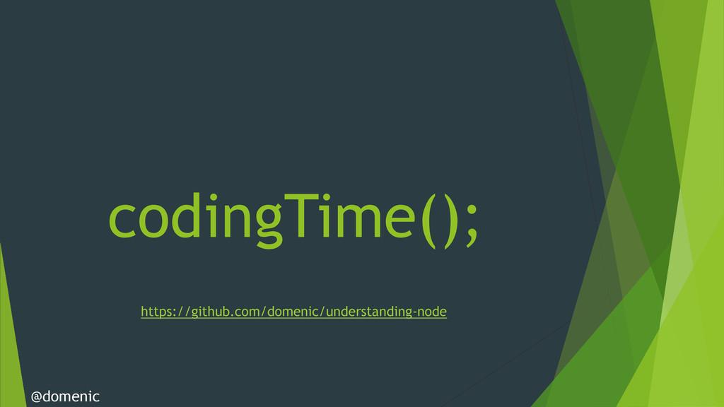 codingTime(); @domenic https://github.com/domen...