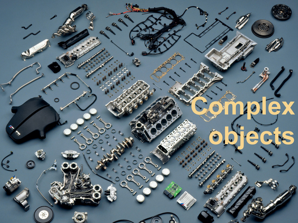 11 Complex objects