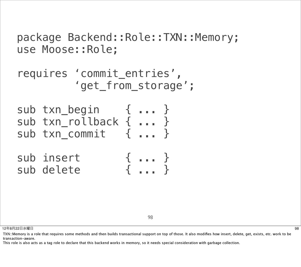 package Backend::Role::TXN::Memory; use Moose::...