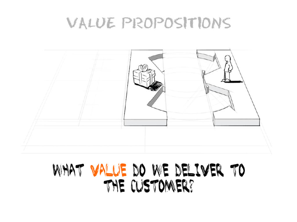 What value do we deliver to The customer?
