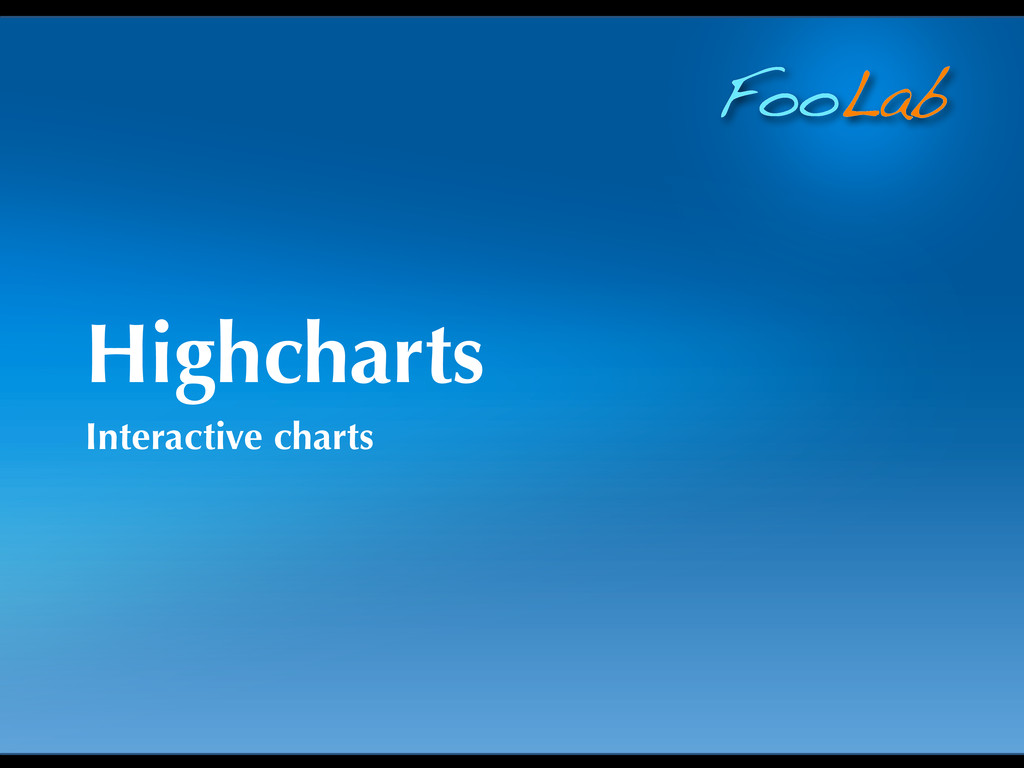 FooLab Highcharts Interactive charts