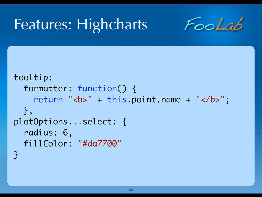 FooLab Features: Highcharts 34 tooltip: formatt...