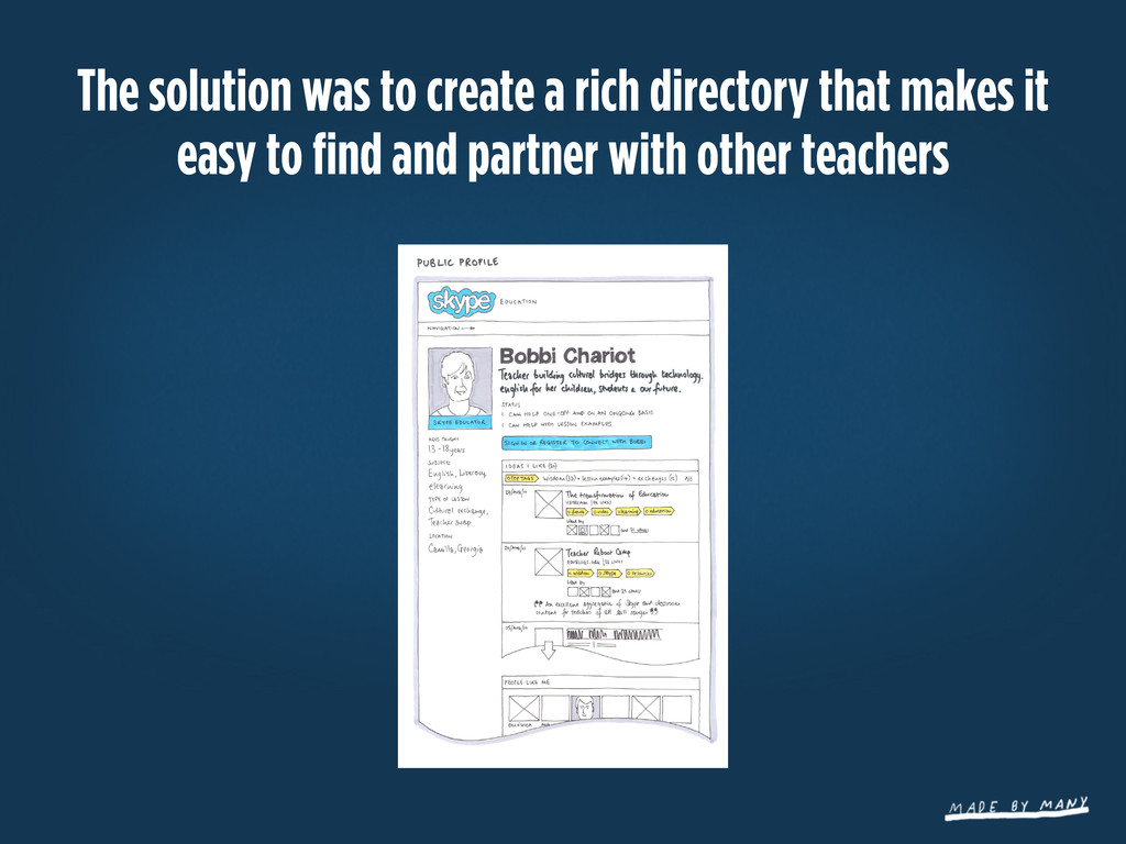 The solution was to create a rich directory tha...
