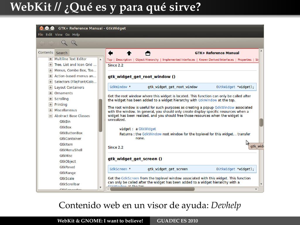 WebKit // ¿Qué es y para qué sirve? Contenido w...
