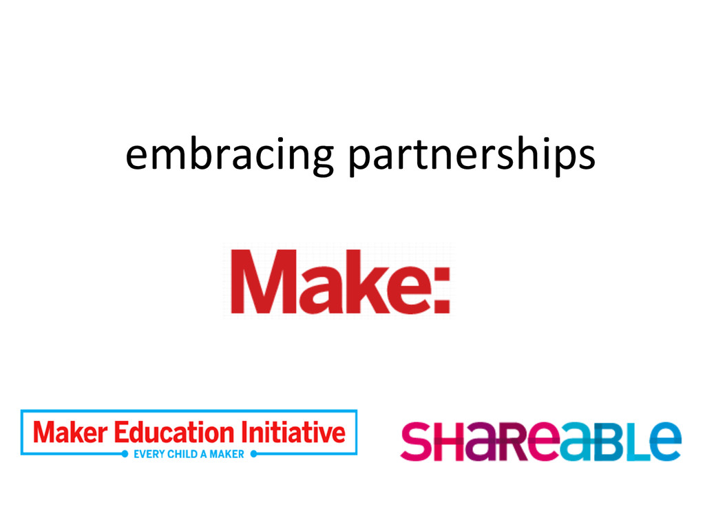 embracing partnerships