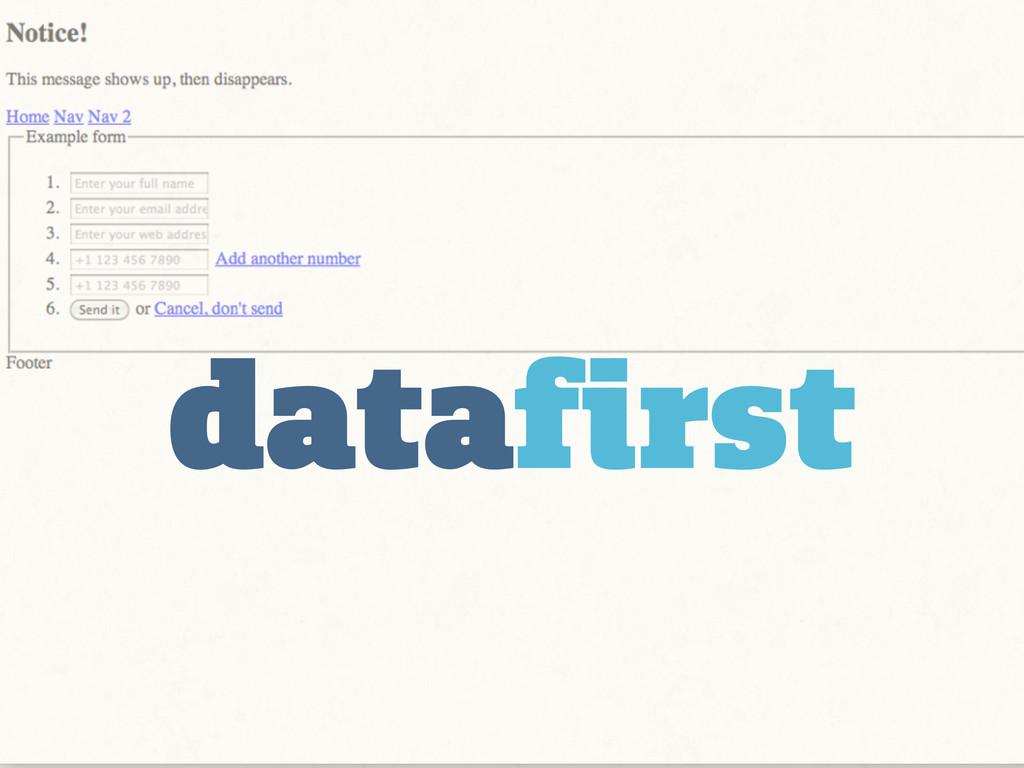 datafirst