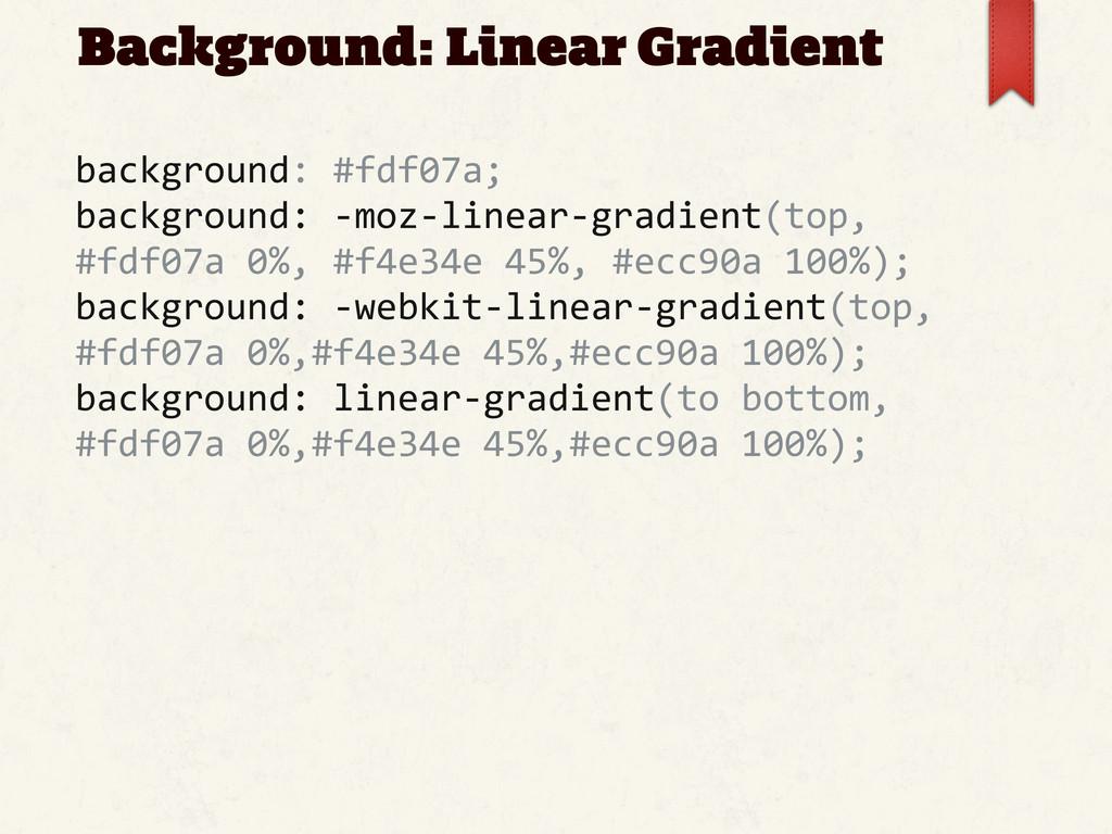 Background: Linear Gradient background: #fdf...