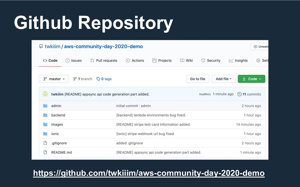 Github Repository https://github.com/twkiiim/aw...