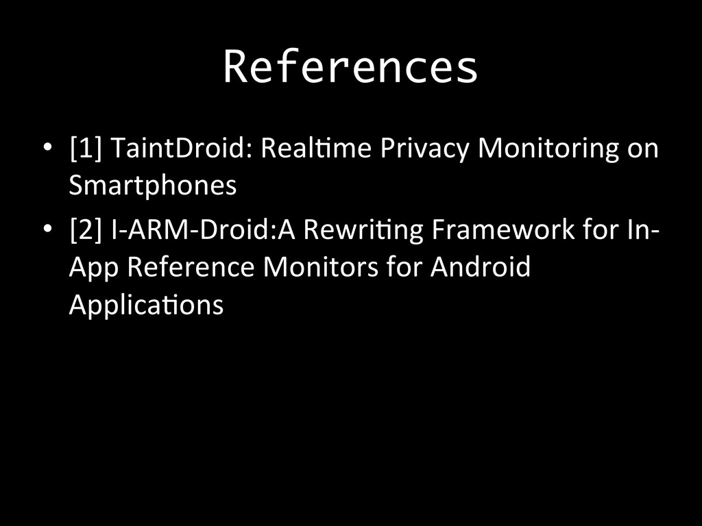 References •  [1]	