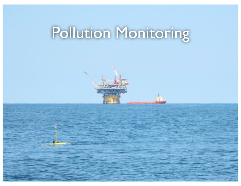Pollution Monitoring