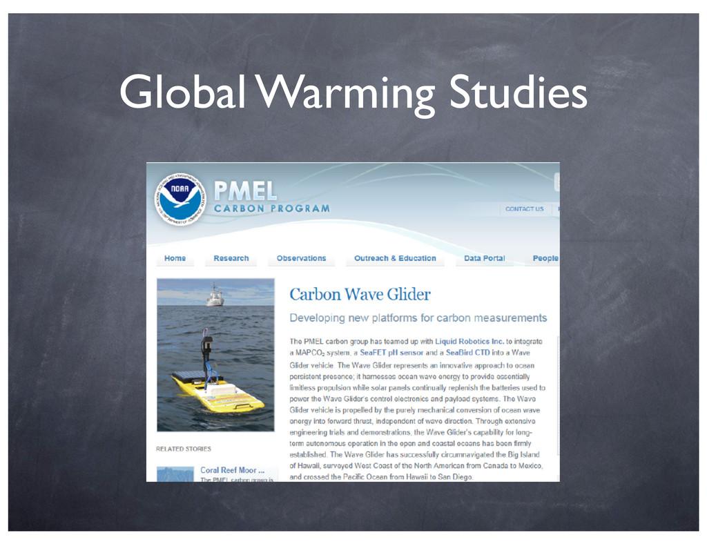 Global Warming Studies