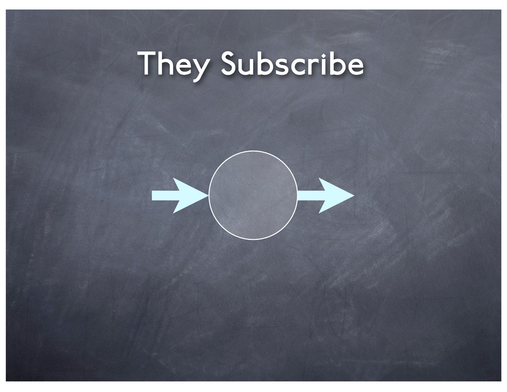 They Subscribe