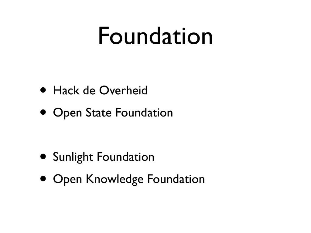 Foundation • Hack de Overheid • Open State Foun...