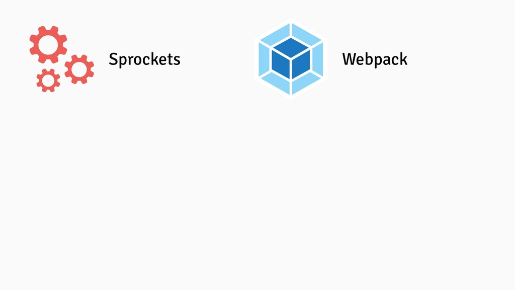 Sprockets Webpack