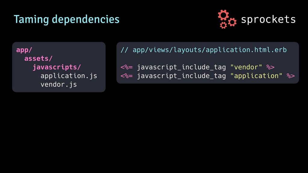 sprockets Taming dependencies app/ assets/ java...