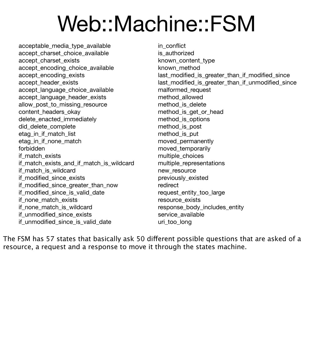 Web::Machine::FSM in_conflict is_authorized know...