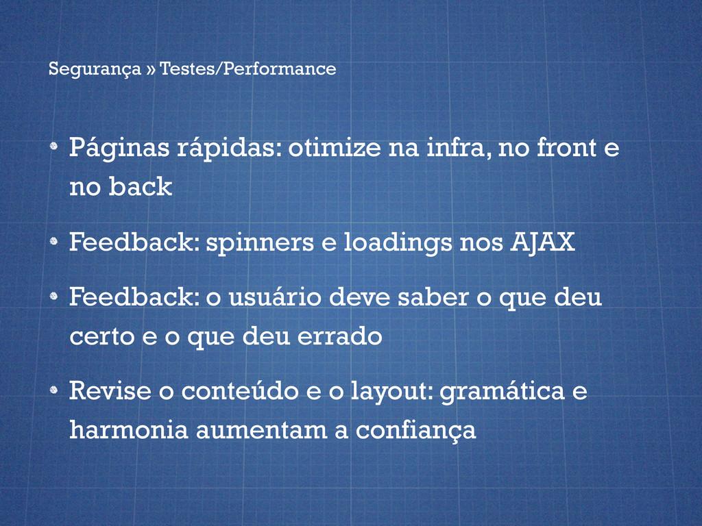 Páginas rápidas: otimize na infra, no front e n...