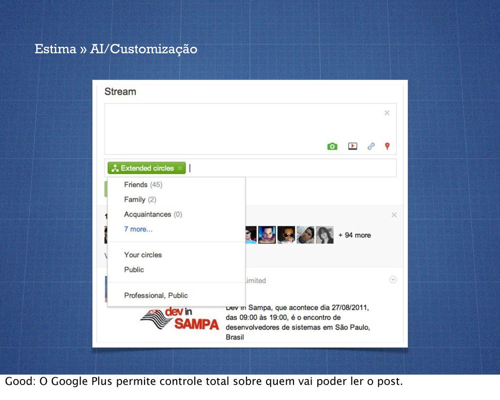 Estima » AI/Customização Good: O Google Plus pe...