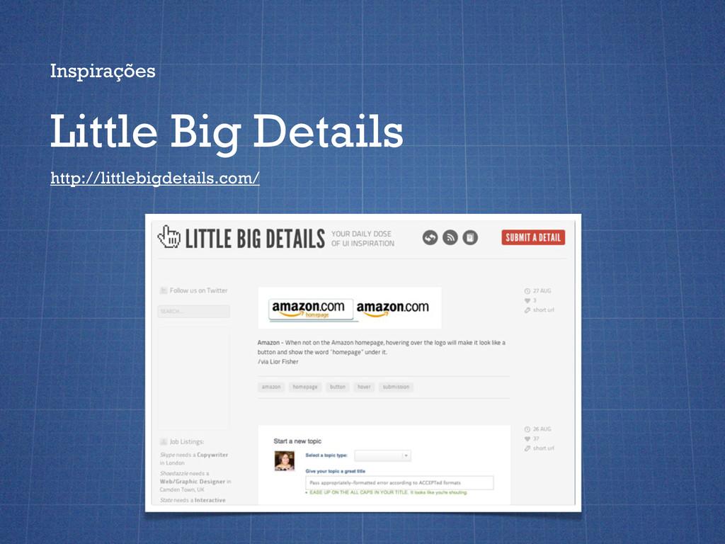 Inspirações Little Big Details http://littlebig...