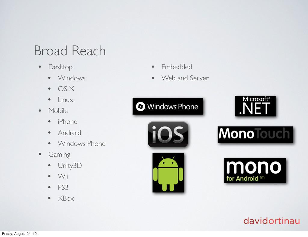 Broad Reach • Desktop • Windows • OS X • Linux ...
