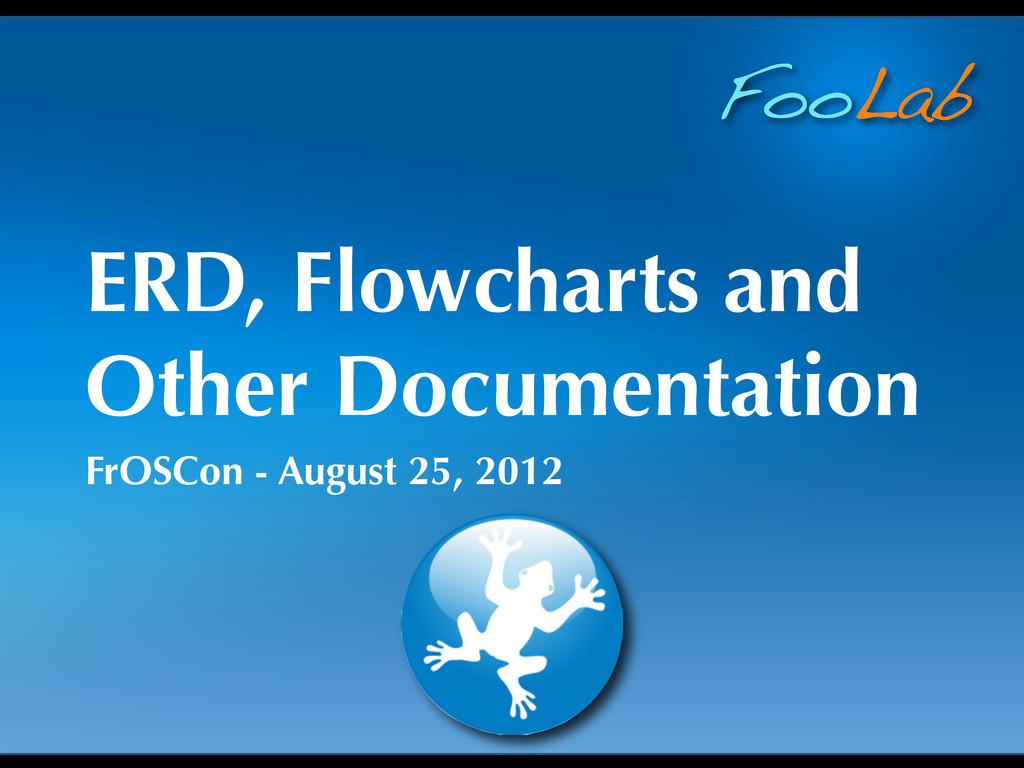 FooLab ERD, Flowcharts and Other Documentation ...