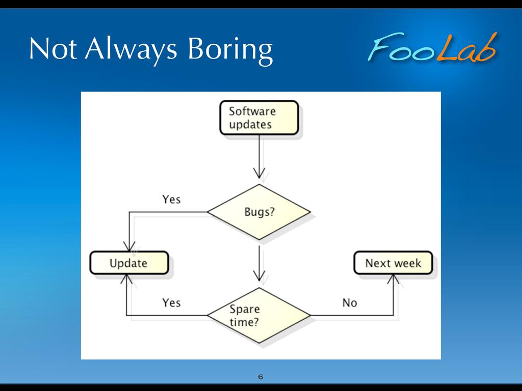FooLab Not Always Boring 6