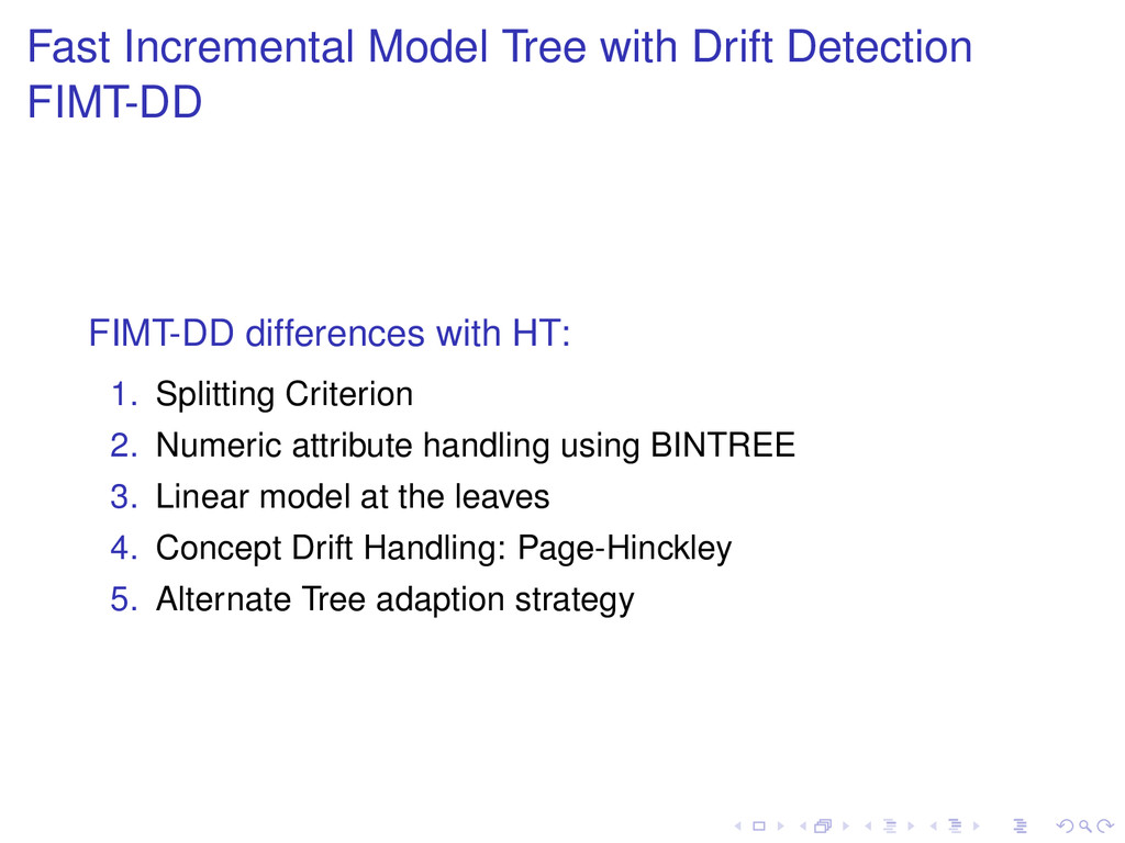 Fast Incremental Model Tree with Drift Detectio...