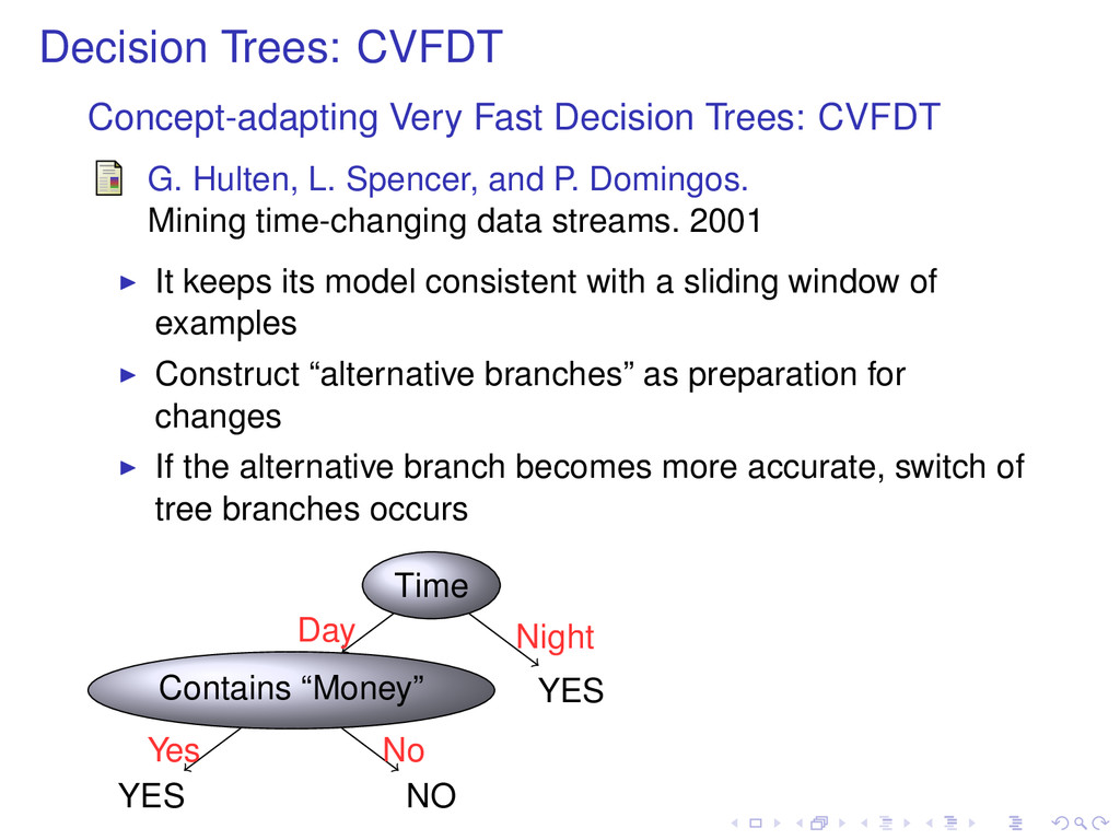 Decision Trees: CVFDT Concept-adapting Very Fas...