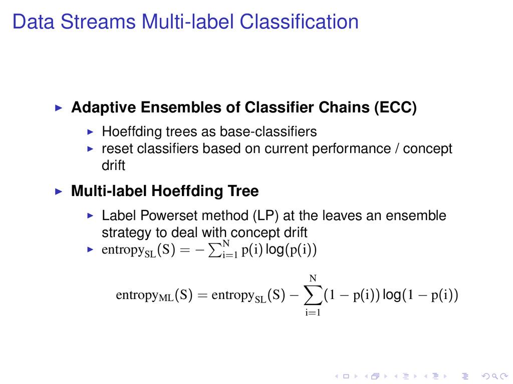 Data Streams Multi-label Classification Adaptive...