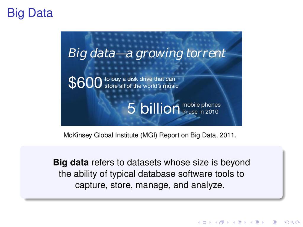 Big Data McKinsey Global Institute (MGI) Report...