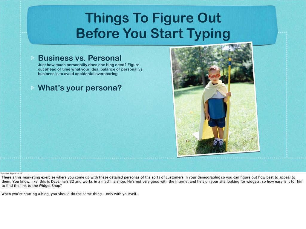 Things To Figure Out Before You Start Typing Bu...