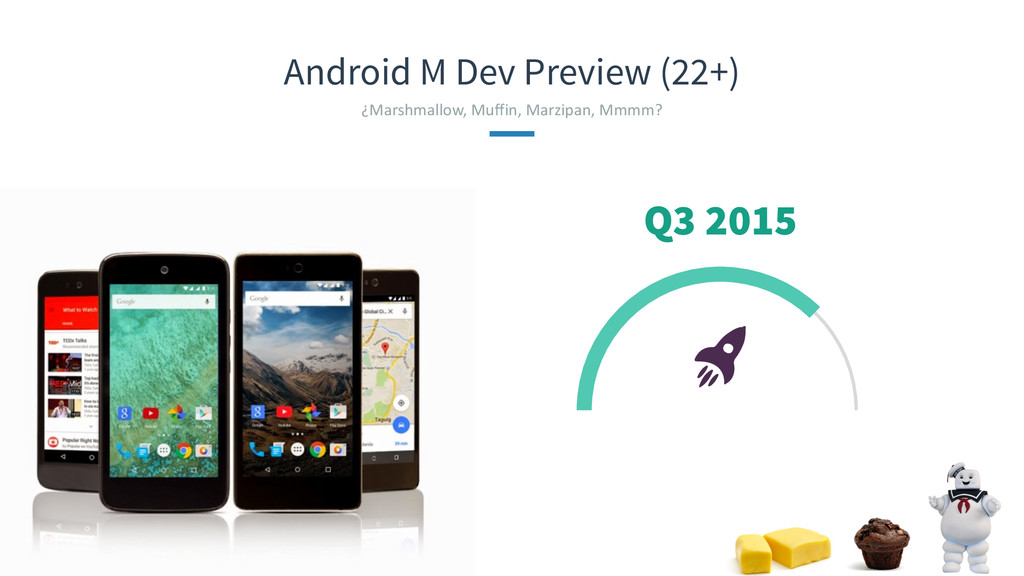 Android M Dev Preview (22+) ¿Marshmallow, Mu...