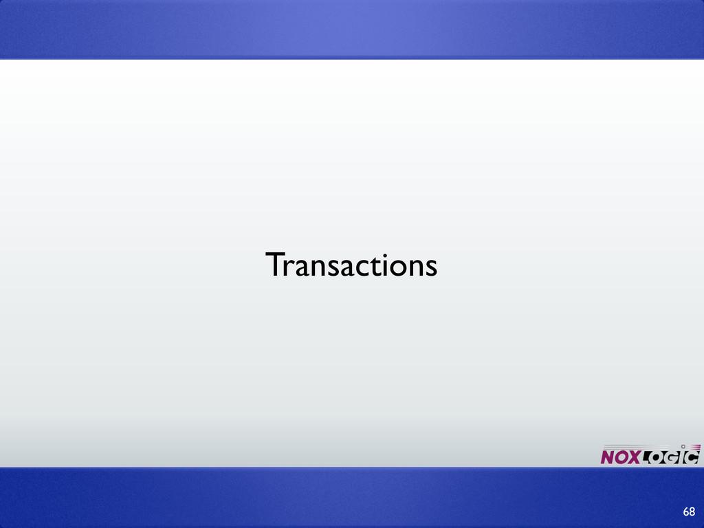 68 Transactions