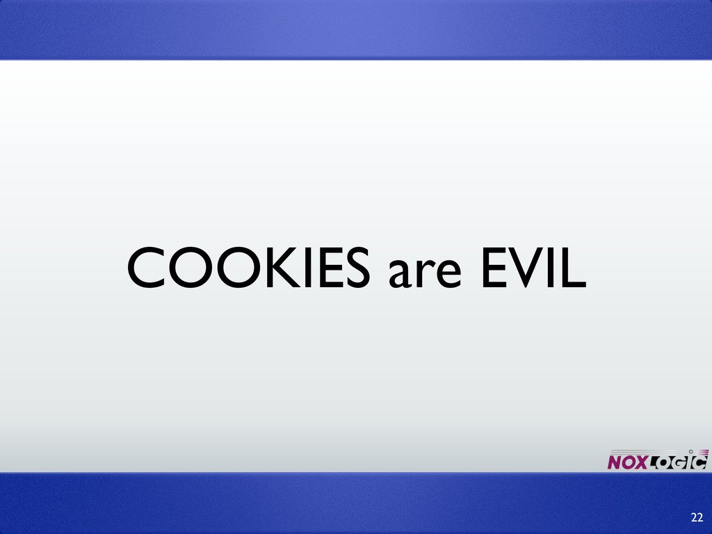 COOKIES are EVIL 22